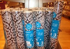 Some wrapping paper you just can't throw out....this is one of them! Paperchase in House of Fraser, Level 3 offering 10% off!