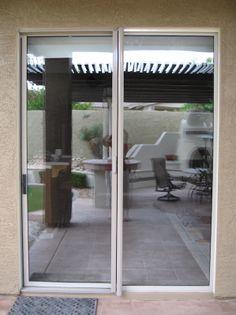 Ordinaire ClearView Retractable Screen Door | AAA Sun Control