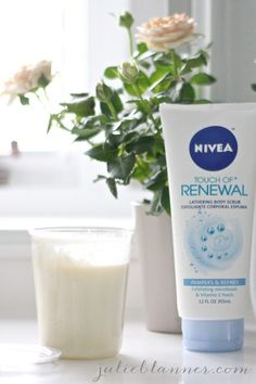 "Nivea touch of renewal body scrub | ""leaves my skin unbelievably soft"""