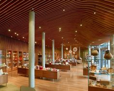 Crystal Bridges Museum of American Art, Museum Store | Marlon Blackwell Architects. Photo © Timothy Hursley | Bustler