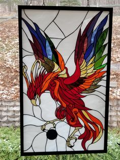 Stained Glass Patterns Free, Stained Glass Projects, Sea Glass, Glass Art, Silk Painting, Recycled Glass, Stained Glass Windows, Animal Paintings, Glass Panels