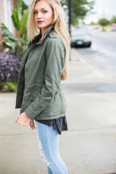 The General Army Jacket – Swoon Boutique