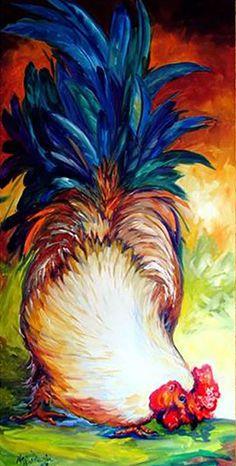 """Rooster Tail"" par Marcia Baldwin"