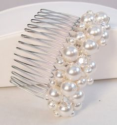 Shoshanna Pearl Cluster Hair Comb