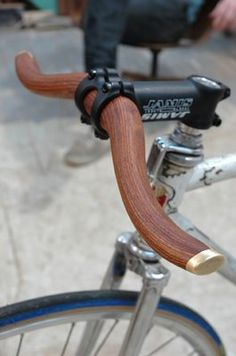 Wooden Handle bars...
