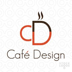 Cafe Design C and D letters