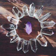 crystals, quartz