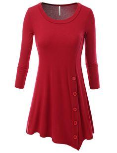 SJSP Plus-Size Womens Short Sleeve various Printed Unbalance Tunic Top at Amazon Women's Clothing store: Fashion T Shirts base for costume