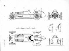 Alfa-Romeo 12C/1937 (Prototype parade №192)
