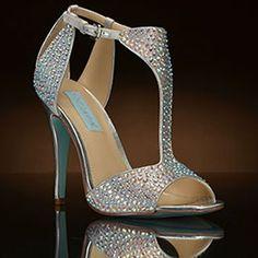 I Do Silver by Betsey Johnson $149.00 www.myglassslipper.com