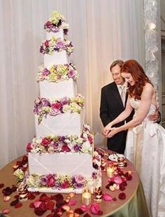 Marcia Cross- that's some cake!