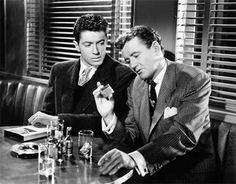 Don't worry. I'm not going to shoot you, Mr. Haines. It might disturb Mother.  STRANGERS ON A TRAIN (1951)