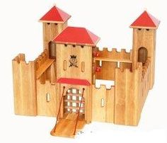 Le Wooden Toy - wooden castles, forts and wild west forts
