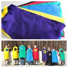Totally want to do this for johnathon bday. Villains Party Other Toddler Birthday Party Ideas. Superhero Birthday Party, 4th Birthday Parties, Birthday Fun, Superhero Capes, Birthday Ideas, Villains Party, Fiestas Party, Childrens Party, Party Time