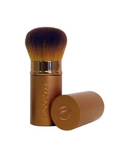 Face Tools : Retractable KabukiBrush | EcoTools (good to keep in the bag).