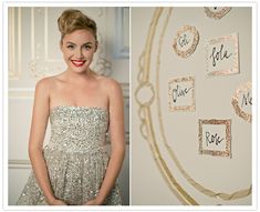 Glitter Wedding Theme - the perfect wedding theme for couples that thrive on all that is glittery and glamorous! Sparkle Party, Sparkle Wedding, Perfect Wedding, Dream Wedding, Wedding Day, Wedding Reception, Washi, Pretty Dresses, Strapless Dress Formal