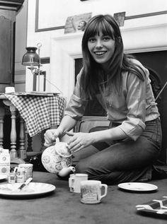 tea time with Jane Birkin