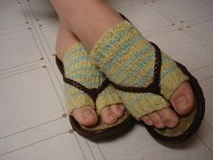 flip flop socks pattern