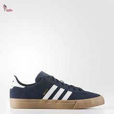 cheaper 574eb c7918 Adidas Skateboarding - Chaussures Skateshoes Homme Campus Vulc Ii -  Conavt ftwwht gum -