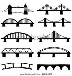 bridge outline - Google Search