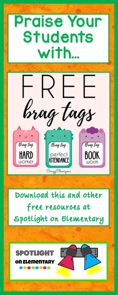 Reward your students with these fun animal shaped brag tags.  You will make…
