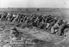 Schützengraben: Buren nahmen 1899 die Stadt Mafeking im Protektorat Betschuanaland ein und belagerten sie 217 Tage.
