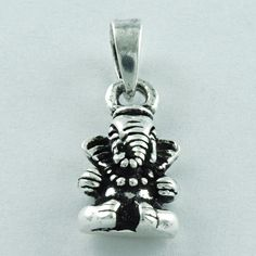 LORD GANESHA 925 SOLID STERLING SILVER PENDANT FOR RELIGIOUS PEOPLE'S  #SilvexImagesIndiaPvtLtd #Pendant