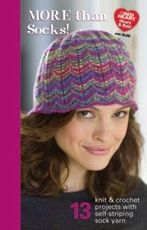Coats & Clark Book - More Than Socks! Pattern Book Only $4.09 at Yarn Supply