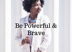 Dress for success! Be powerful and brave Black Girls Power, Girl Power, Becoming A Better You, How To Become, Dress For Success, Love You More, How To Better Yourself, Self Care, Personal Development