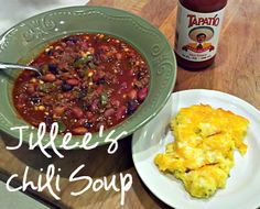 Jillee's Chili Soup | One Good Thing by Jillee