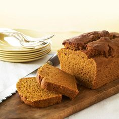 This slimmed-down quick bread has NO saturated fat and NO cholesterol.