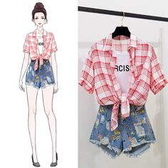Cute Casual Outfits, Pretty Outfits, Stylish Outfits, Fashion Drawing Dresses, Fashion Illustration Dresses, Dress Design Sketches, Fashion Design Sketches, Kpop Fashion Outfits, Girls Fashion Clothes