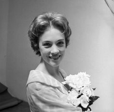 1960 Camelot Julie Andrews backstage