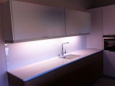Frontal vidrio templado extra blanco Instala lumber cocinas
