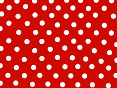 design, red and white polka dots - this pattern would also look great on a 60's style dress