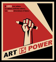 Inspiration about russian contructivism to express the power of art