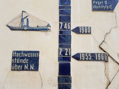 Pegelanzeiger an der Lauenburger Promenade ©DorothéeMeyer