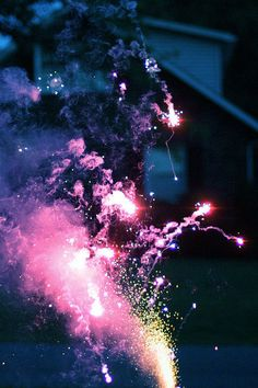 When I was little, I thought fireworks were how stars were made.