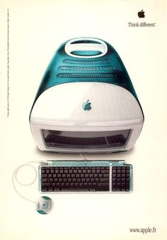 Apple Imac - 1997. I want the pink!