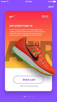 Nike In-App Promotions by Jardson Almeida - 1