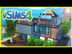 LAKE CABINS - Micro - Sims 4 | House Build - YouTube