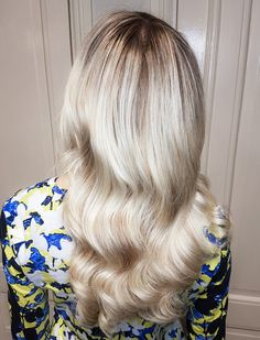 Soft super blonde balayage with babylights by Susanna Poméll / @healthyhairfinland