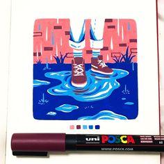 how to draw whiskers Marker Kunst, Posca Marker, Marker Art, Art Sketches, Art Drawings, Zentangle Drawings, Zentangle Patterns, Vexx Art, Stylo Art