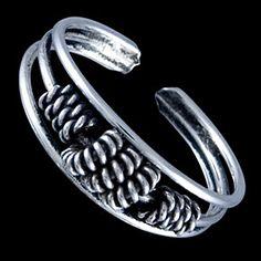 Silver ring, toe ring