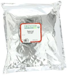 Frontier Thyme Leaf Certified Organic 16 Ounce Bag >>> Check this awesome product by going to the link at the image.