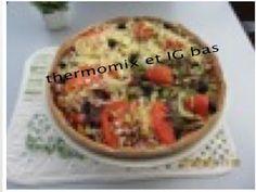 thermomix et IG bas: Pizza à bas IG en GP