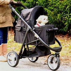 Gen7Pets Promenade Pet Stroller Midnight #dogs