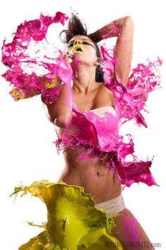 paint photoshoot - Google Search