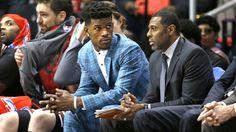 Derrick Rose sits vs. Trail Blazers; Jimmy Butler's MRI 'looked good'