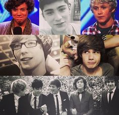 One Direction: back in the X Factor days...aww so long ago